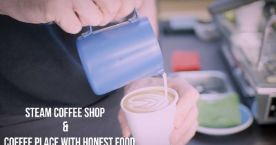 Solidaritate | Steam și CPWHF, aburii cafelei bune din București