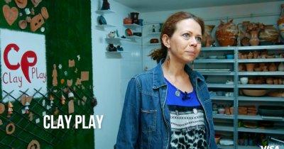 Solidaritate | Clay Play, atelierul care modelează lutul și dezvoltarea copiilor