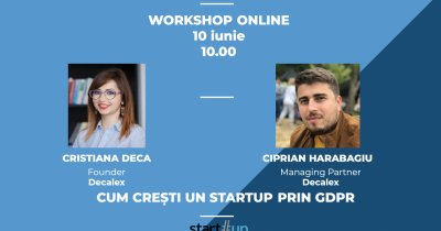 VIDEO Workshop - Cum crești startup-ul prin privacy și GDPR
