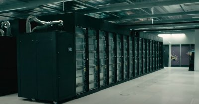 Pășește în viitor: Tur virtual al unui supercomputer