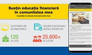 ABCdar bancar: peste 100 licee din țară susțin educația financiară în comunitate