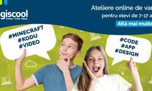 Cursuri de programare pentru copii: Atelierele Digitale Online de la Logiscool