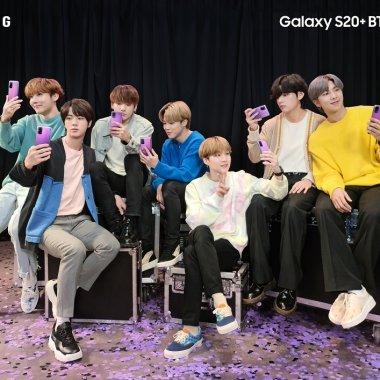 Samsung, colaborare cu o trupă de K-pop pentru Galaxy S20+ 5G, Galaxy S20+