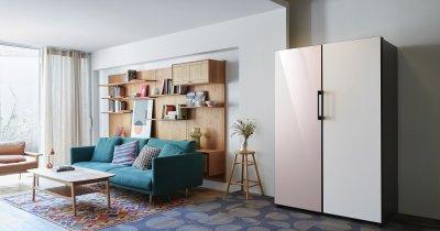 """Samsung Bespoke e frigiderul de lux ultrapersonalizabil. Îl poți lua pe """"bucăți"""""""
