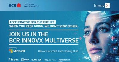 InnovX Multiverse: conferință hibrid cu cele 10 startup-uri din accelerator