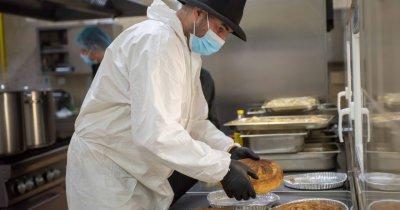 Coronavirus | Adi Hădean și Solidar Social, porții de mâncare gratis tot anul
