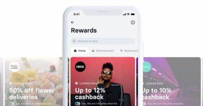 """Revolut lansează """"Recompense"""" și-ți dă bani înapoi din cumpărăturile online"""