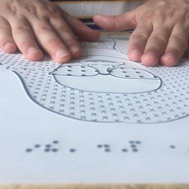 Tactile Images: românii care vor să fie noul Braille pentru nevăzători