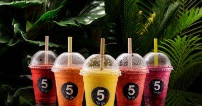 Franciza 5 to go: de la 1.000.000 de paie de plastic la paiele comestibile