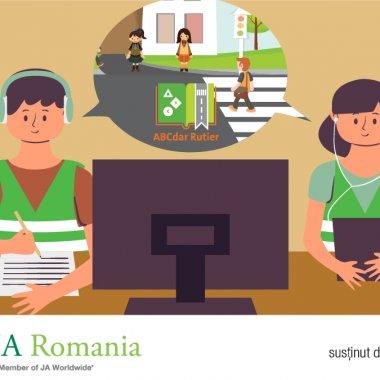 Educație rutieră online pentru copii: Programul ABCdar rutier