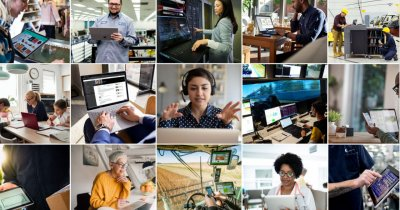 Microsoft vrea să învețe 25 mil. de oameni să folosească tehnologia pentru job