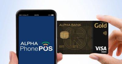 Alpha PhonePOS e aplicația Alpha Bank care-ți transformă telefonul în POS