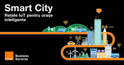 Orange implementează rețea LoRaWAN pentru smart city în București și Iași