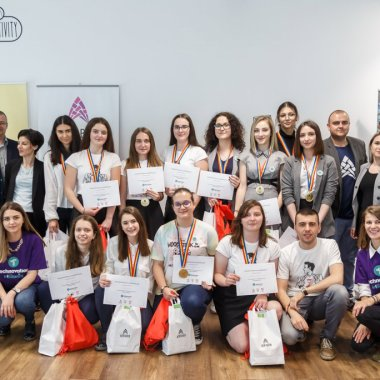 Premiante la Technovation Girls cu o soluție care poate evita un nou caz Caracal