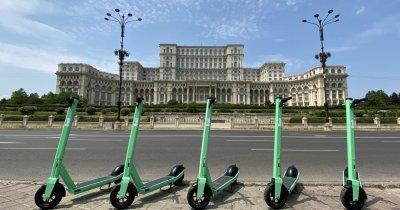 Bolt lansează trotinetele electrice în București. Sunt disponibile în aplicație