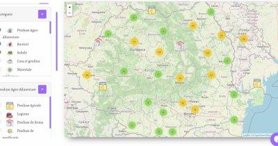 """Harta Producătorilor Locali: tinerii care te ajută să mănânci """"Made in Romania"""""""