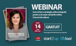 VIDEO BizTool.ro webinar: strategie online integrată pentru vânzări mari