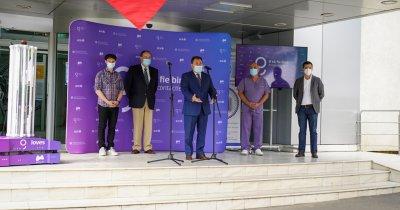 Primul robot de sterilizare autonom românesc la Spitalul Universitar