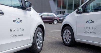 SPARK extinde flota în România & Bulgaria cu peste 200 de mașini ŠKODA electrice