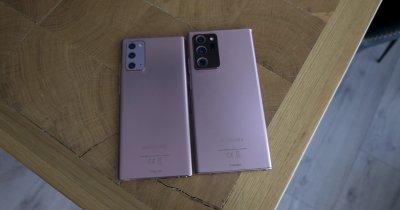 HANDS ON - Cât de bune sunt Samsung Note 20 și Note 20 Ultra