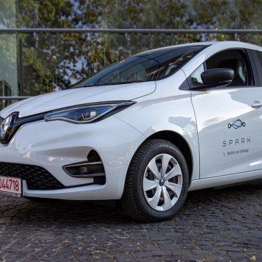 Carsharing în București: Spark adaugă 400 de Renault Zoe electrice în flotă