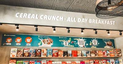 Franciza Cereal Crunch deschide primul punct de lucru în provincie, la Craiova
