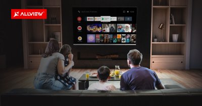 Smart TV-urile Allview primesc upgrade software la noi versiuni Android TV