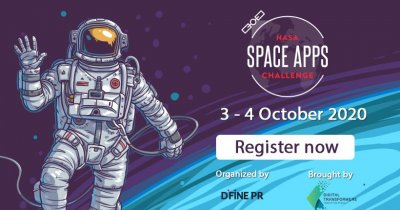 NASA Space Apps Challenge România: înscrieri deschise și teme anunțate