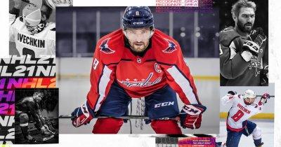 Jocul de hochei NHL 21 se lansează pe 16 octombrie. Pe coperta este Alex Ovechkin
