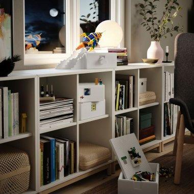 IKEA și LEGO Group lansează BYGGLEK – o soluție pentru joacă și depozitarea