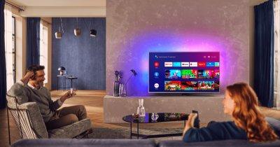 Noua gamă de televizoare Philips The One 2020 este disponibilă în România