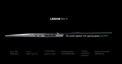 Lenovo Legion Slim 7i e un laptop portabil de gaming care promite multe