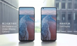 Cum vor arăta telefoane Xiaomi cu senzor foto ascuns sub display