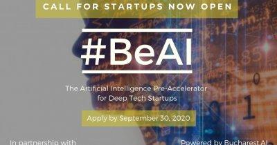 Preaccelerator pentru startup-uri de inteligență artificială din România