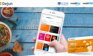 Carduri de masă integrate în aplicația Netopia ca să comanzi de la restaurante