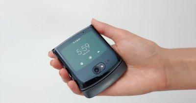Moto Razr 5G - celebrul flip phone devine mai bun