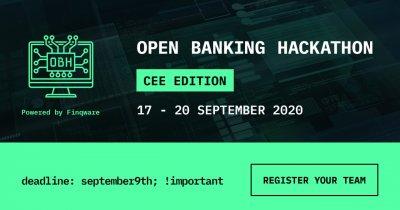 Open Banking Hackathon - CEE Edition: Registration Open Until September 9th