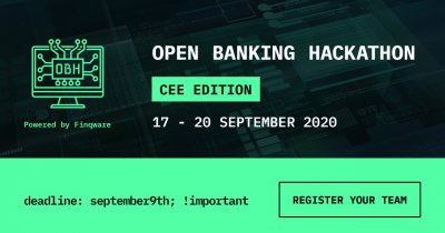 Open Banking Hackathon 2020: înscrieri deschise până pe 9 septembrie