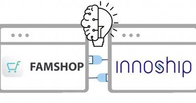După o investiție de 550.000 de euro, Innoship face parteneriat cu FamShop