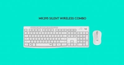 Logitech lansează MK295 wireless combo, kit silențios de mouse și tastatură