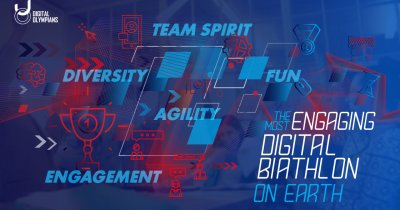 Digital Olympians: Primul campionat digital dedicat mediului corporate