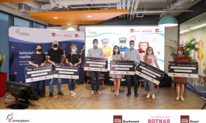 100.000 de euro pentru 5 startup-uri la finala Innovators for Children 2020