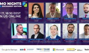 Demo Nights: ultima întâlnire înainte de Startup Spotlight Online