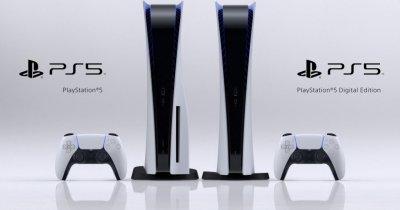 Sony anunță prețurile pentru consolele PS5. Când se lansează în România