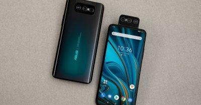 Telefoanele cu cameră flip, ZenFone 7 și ZenFone 7 Pro, disponibile în România