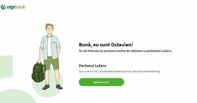 LeZero: Serviciul de banking 100% digital de la OTP Bank