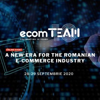 ecomTEAM 2020, două zile de e-commerce intensiv: cum poți avea acces gratuit