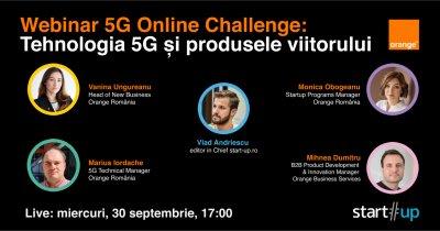 VIDEO Webinar despre aplicațiile 5G și competiția 5G Online Challenge
