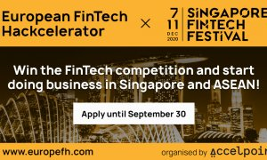 European FinTech Hackcelerator 2020: get your business on the Asian market