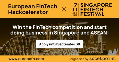 European FinTech Hackcelerator 2020: get your business on the Asian market